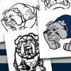Yale Bulldog Mascot Design