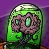 Brain Alien Robot Cartoon Creature Concept Art