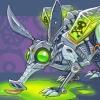 Toxic Waste Robot Aardvark Creature