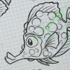 Fish Creature Concept Artwork Warted Long-Nosed Fish