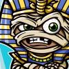 Cartoon King Tut Character Vector Illustration
