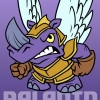 Character Concept Art Rhino Angel Paladin Knight