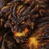 lava beast photoshop concept art illustration