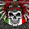 Aztec Skull Vector MMA T-shirt Design for Clothing Line