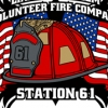 Firefighter American Flag Vector T-shirt Design