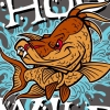Hogfish Vector T-shirt Design