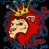 Urban Graffiti Lion Vector T-shirt Design