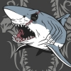 Mako Shark Vector T-shirt Design