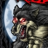 werewolf beast photoshop t-shirt illustration