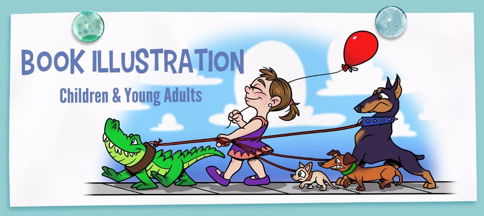 Featured Image for Children's Book and Young Adult Novel Illustrator