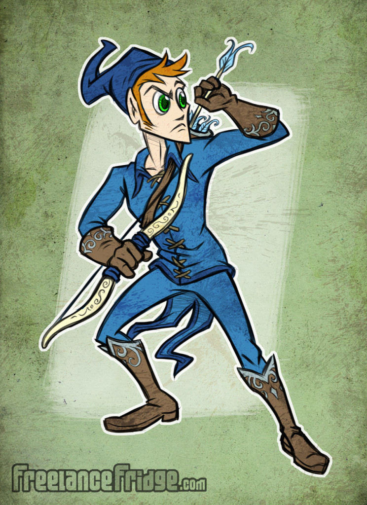 Fantasy Elf Character Design