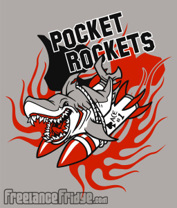 POKER Pocket Rockets t-shirt designs