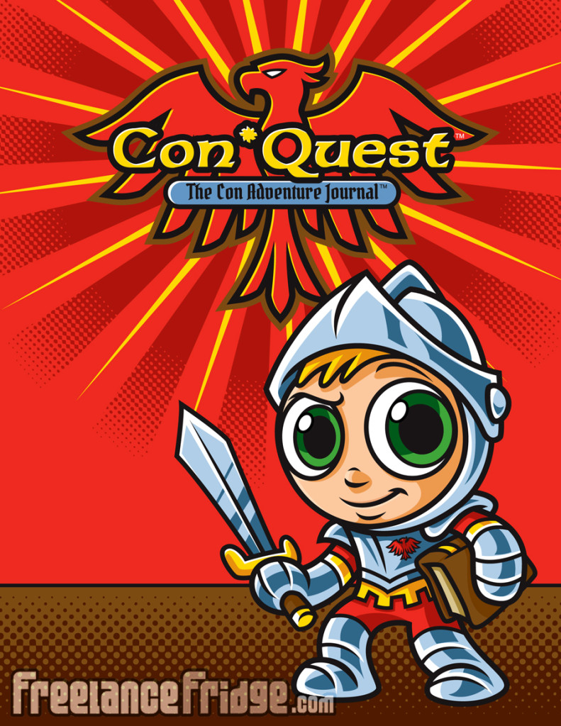 ConQuest Character Design Creation & Logo