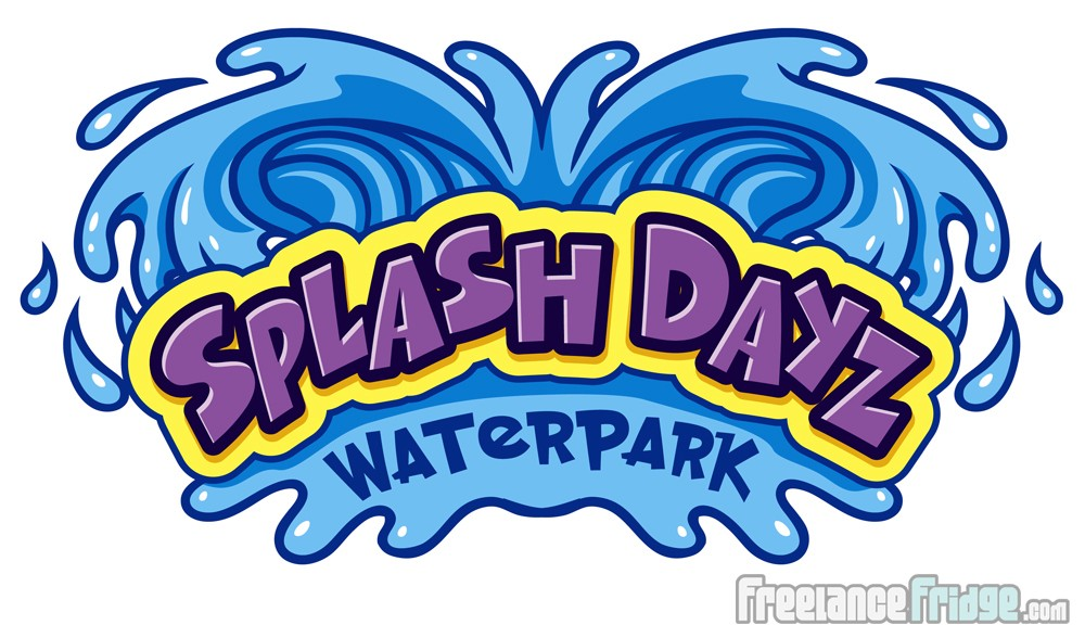 Splash Dayz water park Logo Design