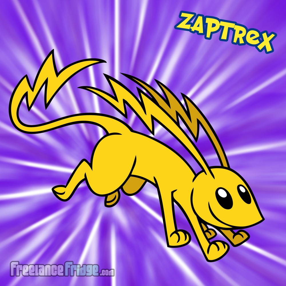 Pokemon Electric Lightning Cute Ferret Original Character Creation Zaptrex