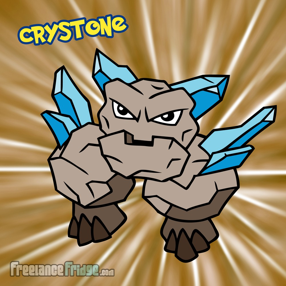 Pokemon Rock Stone Crystals Original Character Creation Crystone