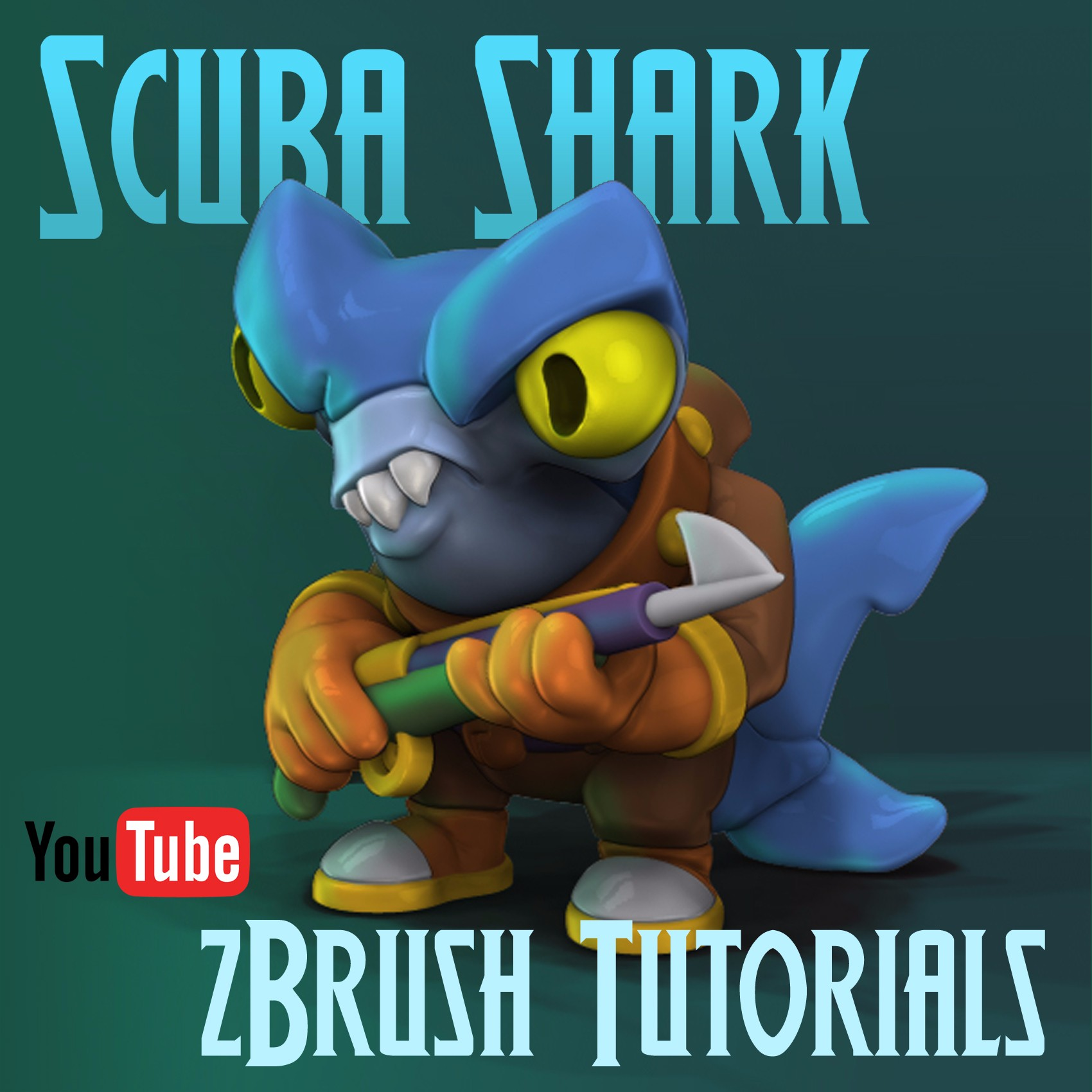 How To Use zBrush for 3D Modeling Toy Figurines YouTube Video Tutorials
