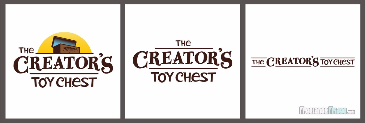 Creator's Toy Chest Christian Children's Book Series Logo Title Final Variations